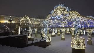 Москва в Новогодние дни 2020
