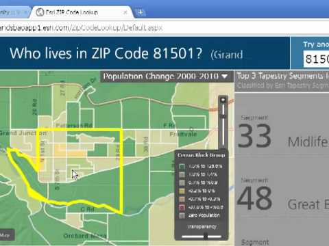 Using the Esri Zip Code Neighborhood Mapping and ysis Tool in ... on