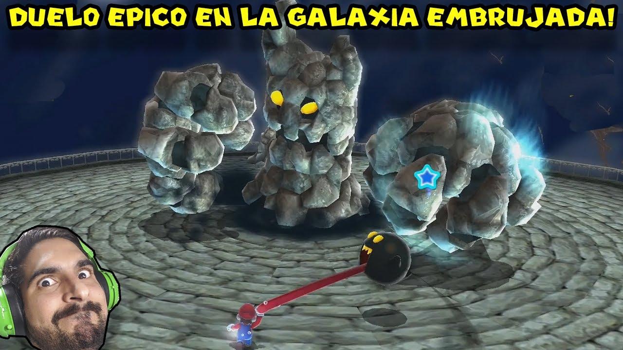 DUELO ÉPICO EN LA GALAXIA EMBRUJADA !! - Super Mario Galaxy con Pepe el Mago (#8)