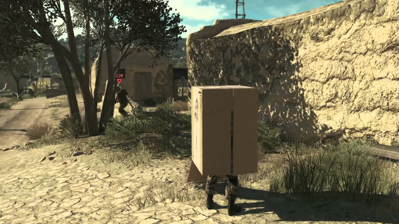 Metal Gear Solid V NEW GAMEPLAY VIDEO | Snake In A Box