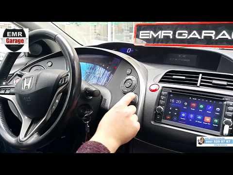 Civic sport android multimedya navigasyon cihazı - EMR Garage Ankara