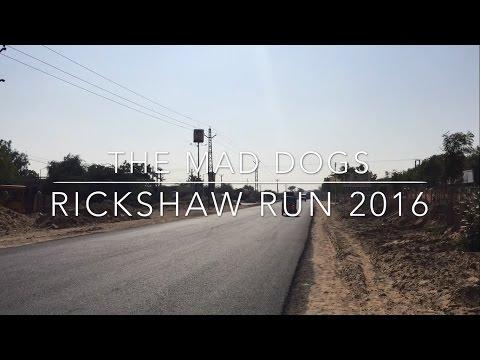 Team Mad Dogs - Rickshaw Run January 2016 India