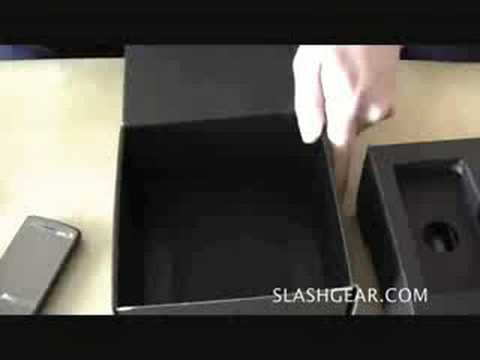 Sprint HTC Touch Diamond Unboxing
