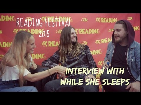 Sophie Eggleton Chats to While She Sleeps at Reading 2015