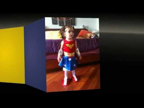 Wonder Woman Costume for Halloween and Costume Parties