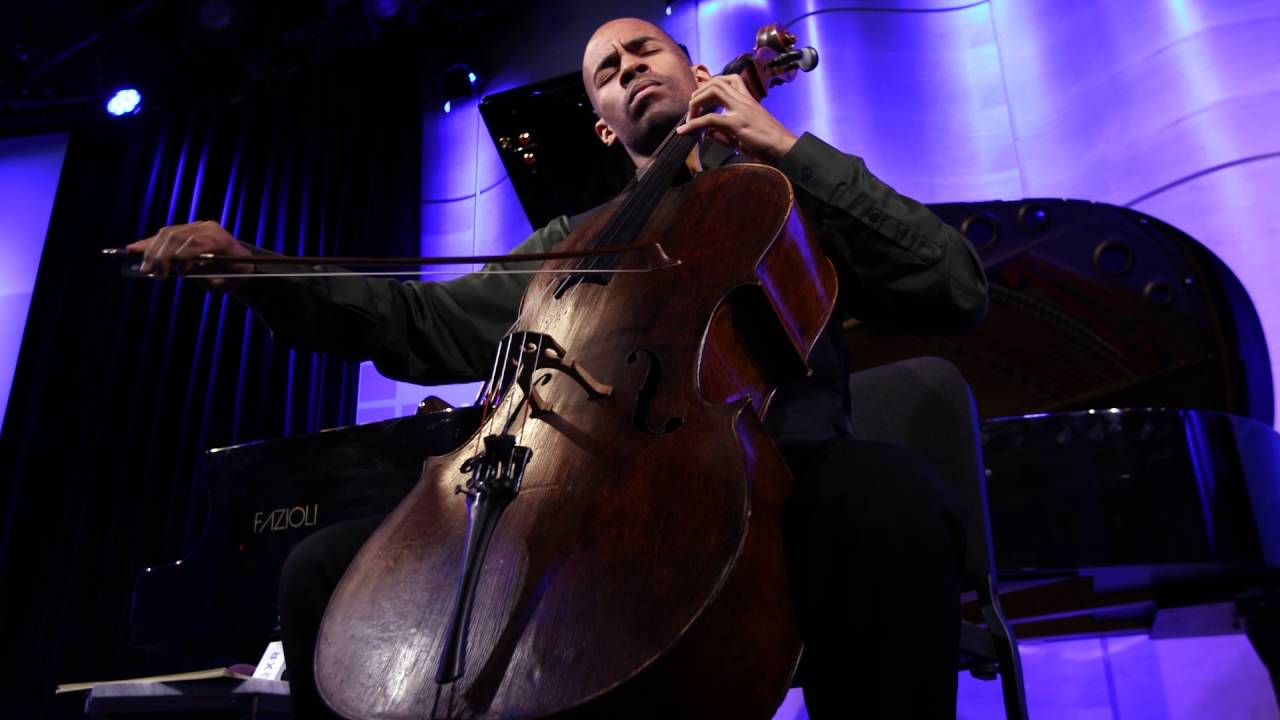 Khari Joyner plays J.S. Bach Suite No. 3 for Unaccompanied Cello