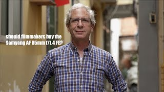 Samyang 85mm f/1.4 vs. Sony 85mm f/1.8: Two Economical Portrait Lenses