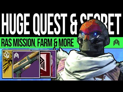 Destiny 2   NEW SECRET MISSION! Community QUEST! Laurels Exploit, DLC Teaser, Player Increase u0026 More