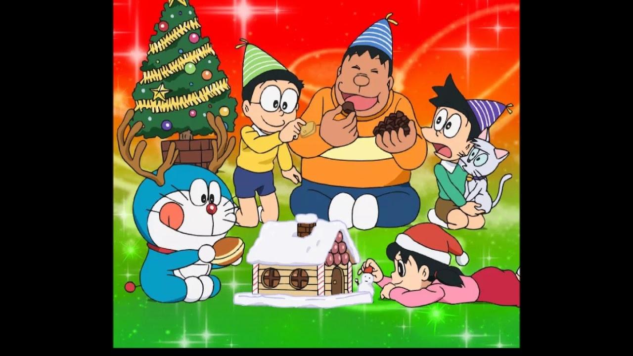 多啦A夢 聖誕歌 Ding! Dong!クリスマスの魔法 中文字幕 - YouTube