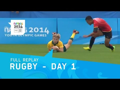 Rugby - Pool Stage Matches Day 1 | Full Replay | Nanjing 2014 Youth Olympic Games