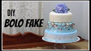 DIY| BOLO FAKE  | LETICIA ARTES
