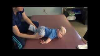 The Beginnings of Crawling in a Movement Lesson