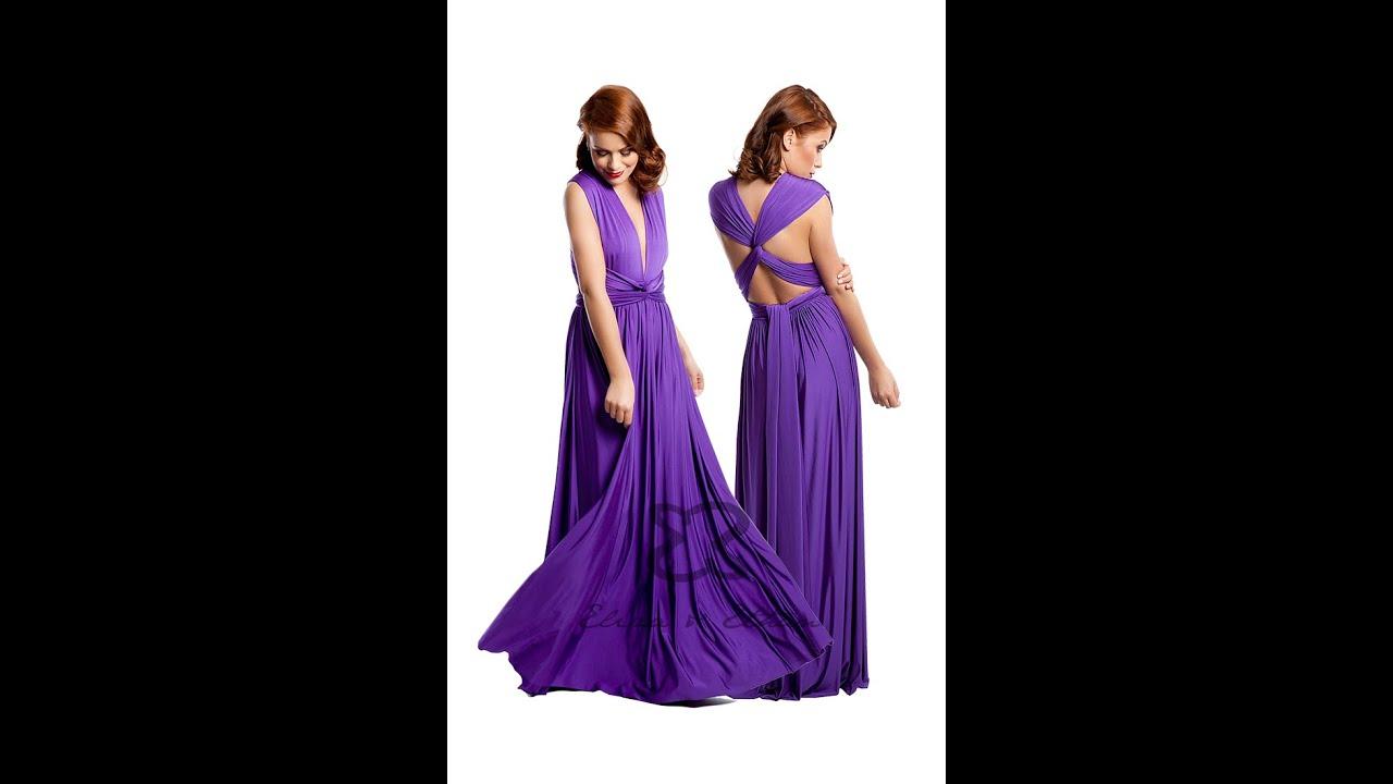Eliza & Ethan Multi-Wrap Dress Tutorial - Style 20 - YouTube