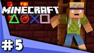 Minecraft PS3 - SHUT THE DOOR!! (Part 5)