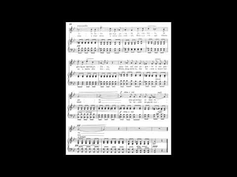 4 Come raggio di sol from 24 Italian Songs and Arias piano melody with accompaniment