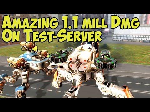 War Robots Amazing Punisher & Orkan Combo On Test-Server ...