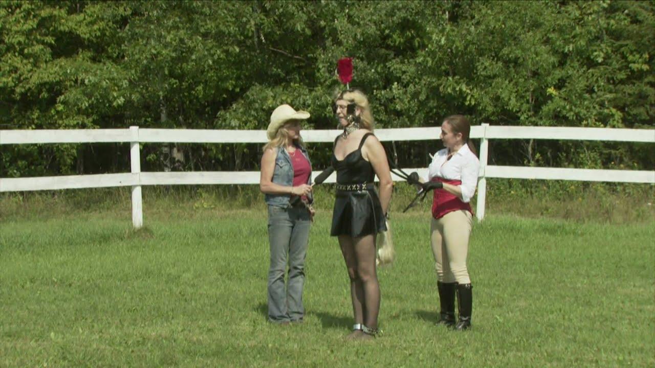 Human Pony Dressage Demo Part Two