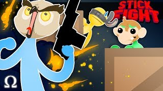 SNAKE ATTACKS & DIRTY DUELS! | Stick Fight #5 Funny Moments Ft. Vanoss, Lui Calibre, Legiqn