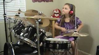 "AC/DC ""Who Made Who Live 92"" a Drum Cover by Emily"