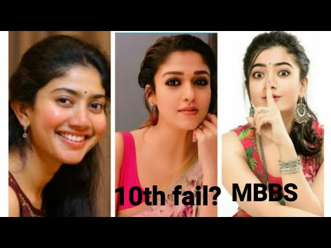 Shocking EDUCATIONAL QUALIFICATION of trending south indian actresses from YouTube · Duration:  2 minutes 35 seconds