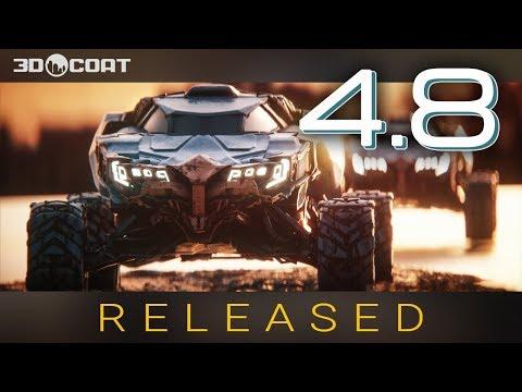3D-Coat 4.8 Released!