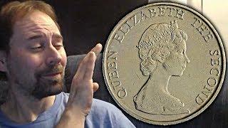 Hong Kong 5 Dollars 1982 Coin
