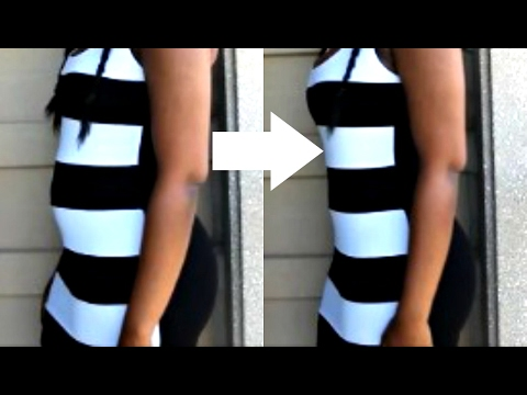 How To: Make Your WAIST Look SMALLER Instantly (DIY!!)