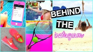 The Truth Behind Instagram Photos