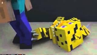 Клип, Анимация про Мишка фредди. Майнкрафт