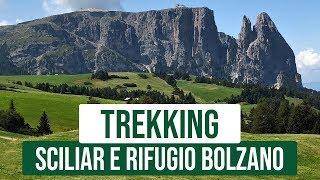 Sciliar e rifugio Bolzano