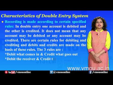 Double Entry System   Dr. Shuchi Singhal