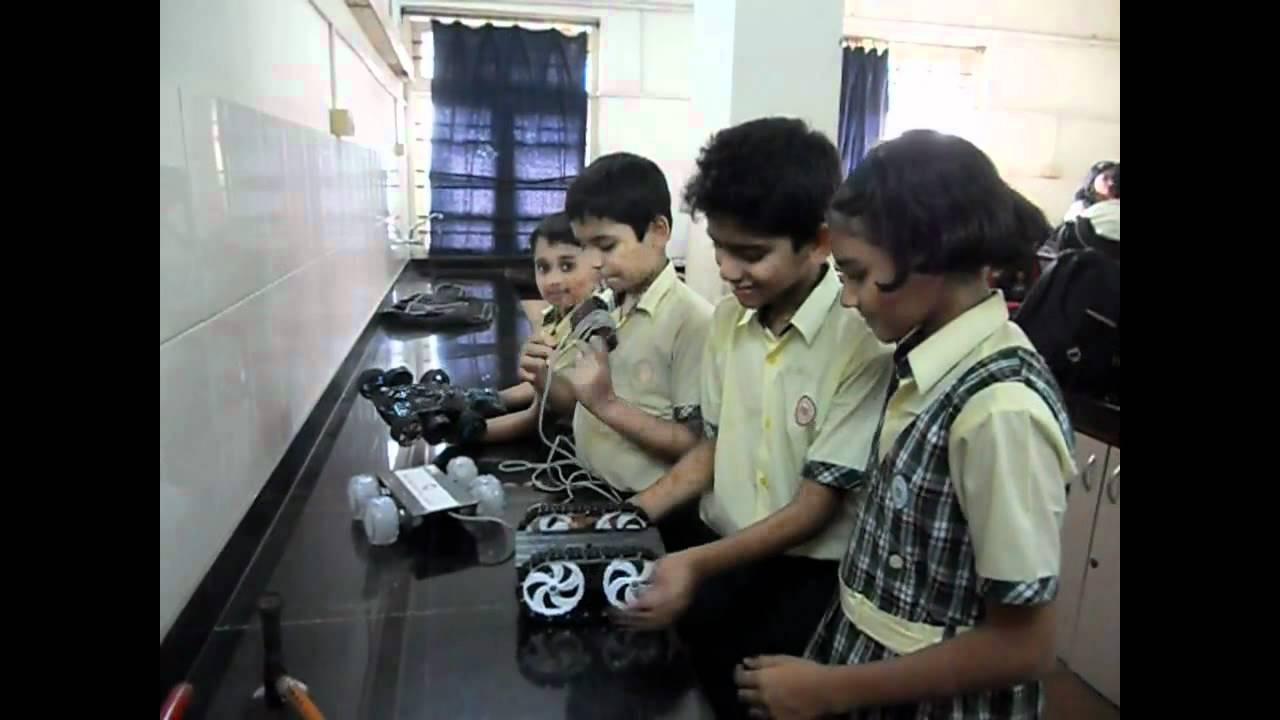 Robotics Arrives In Indian School Youtube