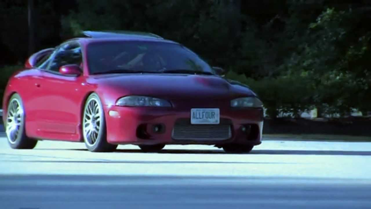 JDM - Mitsubishi Eclipse Tribute (by BSevenSaid) - YouTube
