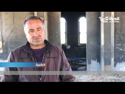 كاميرا الحرة ترصد الكنائس المدمرة في القرى المسيحية في شمال سورية