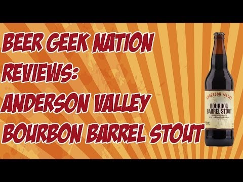 Anderson Valley Wild Turkey Bourbon Barrel Stout | Beer Geek Nation Craft Beer Reviews