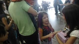 Chegada da no Aeroporto de Goiania