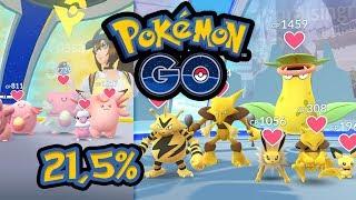 21,5% Chance auf Entei, Themen-Arenen & #SafariZone   Pokémon GO Deutsch #420