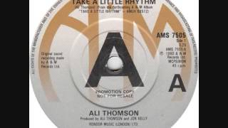 Ali Thomson - Take A Little Rhythm (1980)