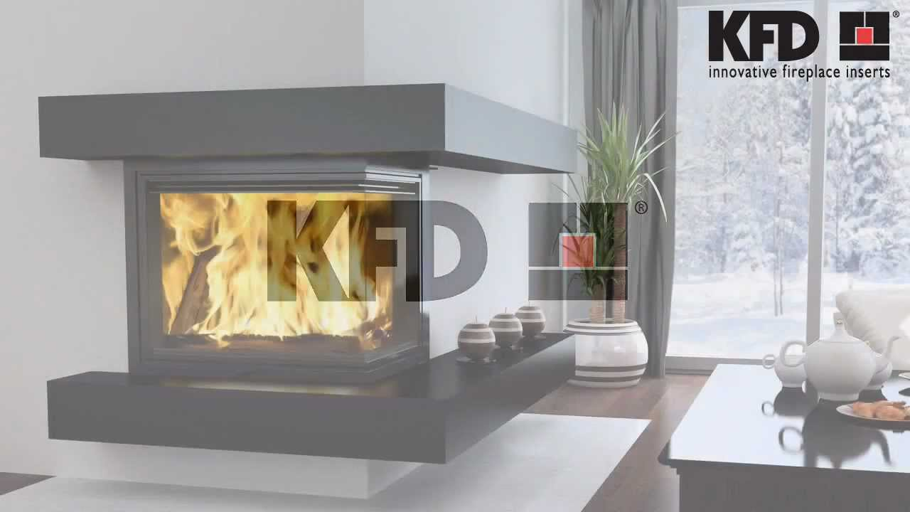 kfd eco iline fireplace inserts www kfdesign eu youtube
