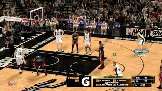 NBA 2K13 : Gaming-Live - Heat vs Spurs