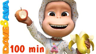 Download Five Little Monkeys Jumping on the Bed | Nursery Rhymes Collection | Nursery Rhymes Dave and Ava Mp3 and Videos
