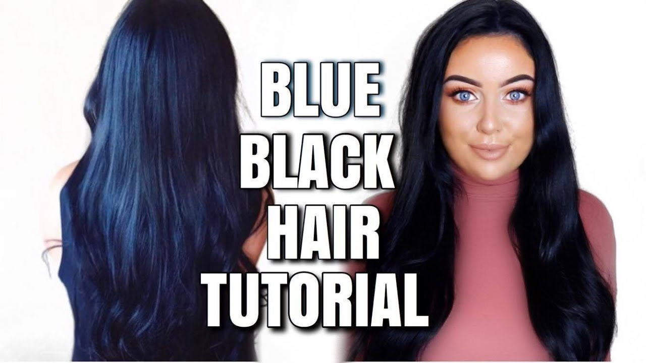 Dying My Hair Blue Black Schwarzkopf Cosmic Blue Updated Youtube
