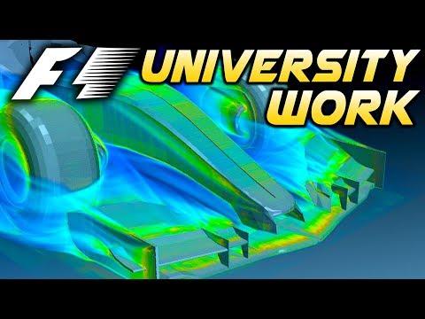 F1 FRONT WING & WHEEL AERODYNAMICS - My University Final Year Work