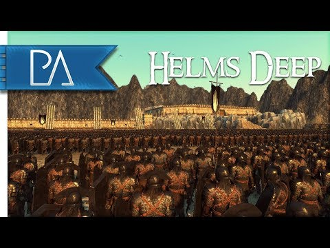 FALL OF HELMS DEEP: EPIC SIEGE BATTLE - Total War: Rise Of Mordor Gameplay