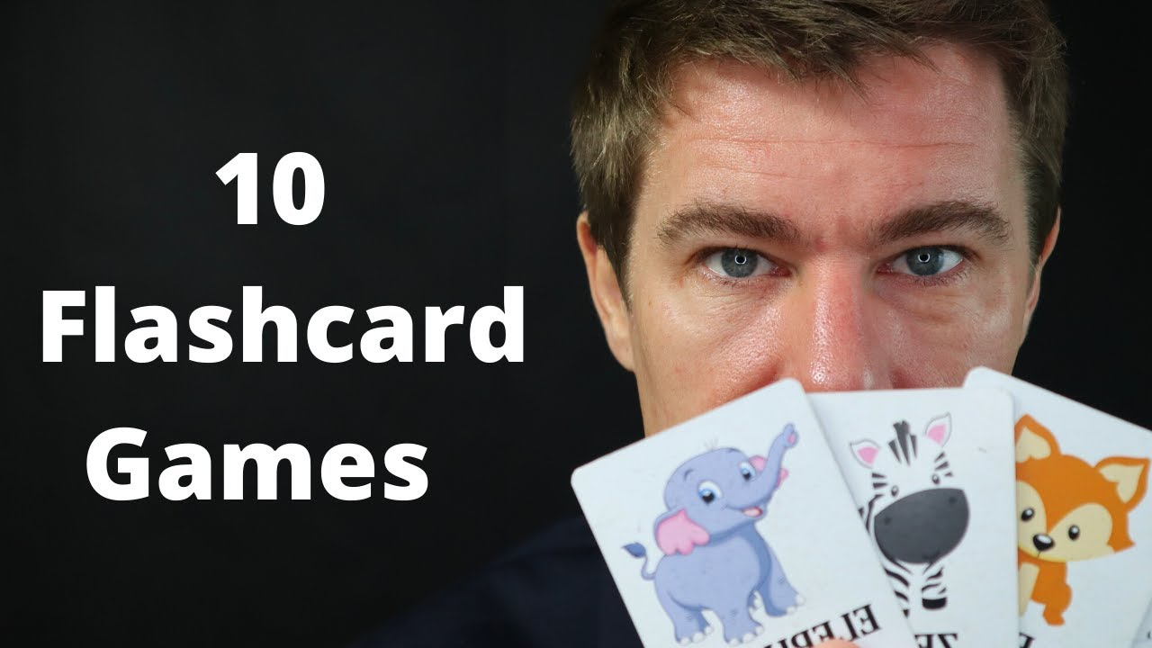 10 Flashcard Games for Young English Learners and Phonics class