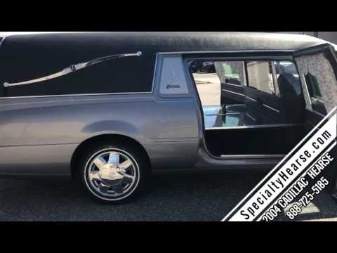 2004 CADILLAC FUNERAL HEARSE