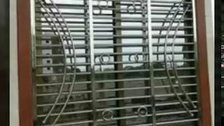 Safety stainless steel window grill designs(part-7)