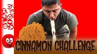 Funny Cinnamon Challenge Vomit Alert - People Throwing Up