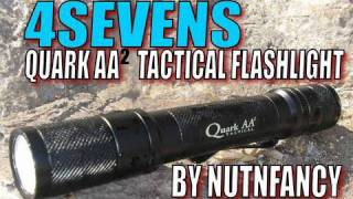 Quark AA2 Tactical flashlight: Pack Leader