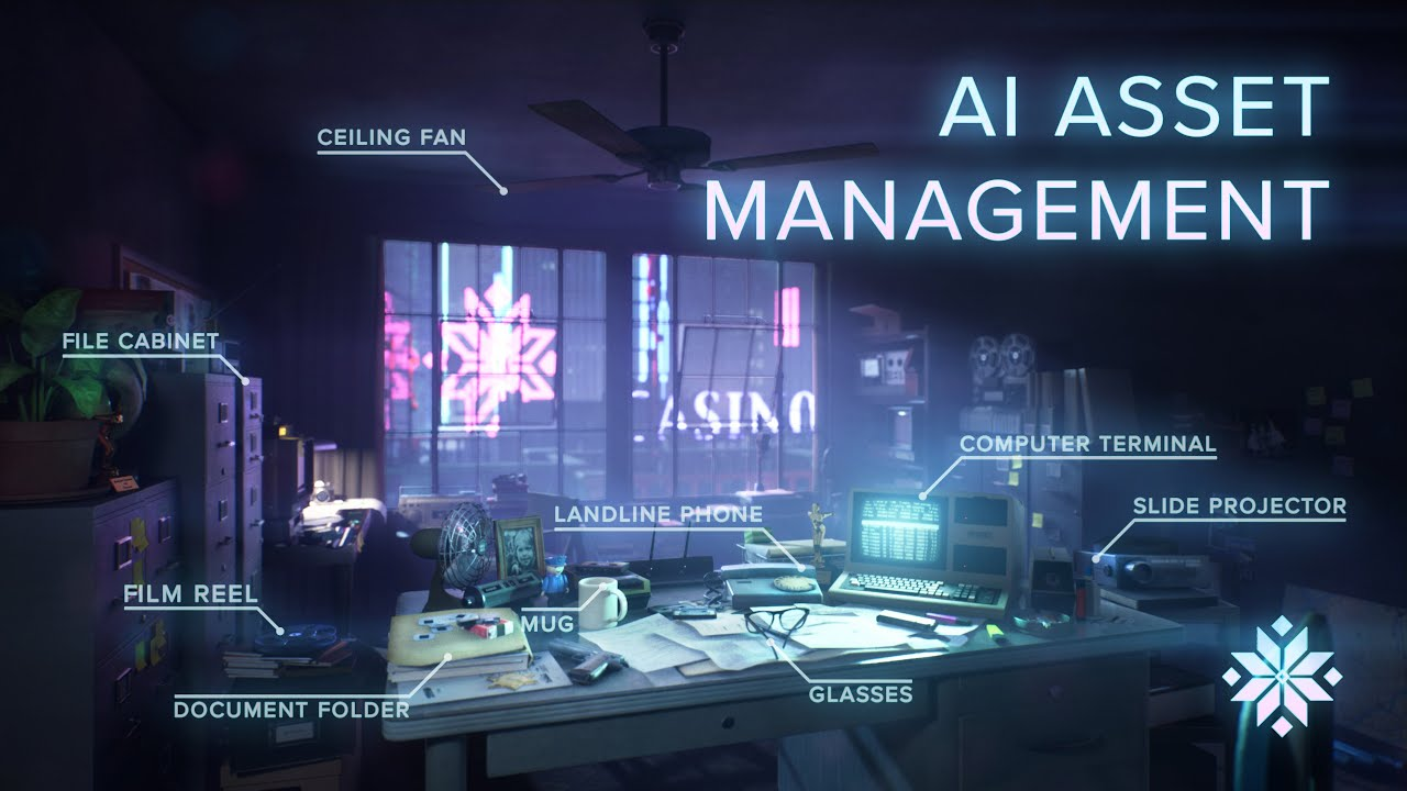 Promethean AI automatically generates game scenes, like a